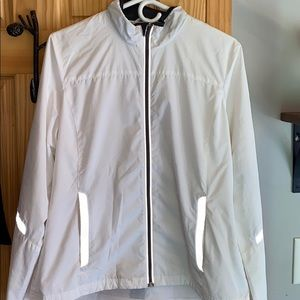 Gap Body white reflection jacket